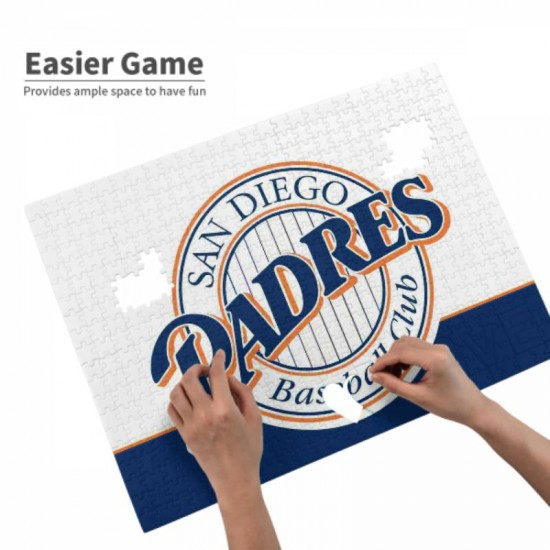 Fun MLB San Diego Padres Picture puzzle #169299, Challenge Puzzle Gift