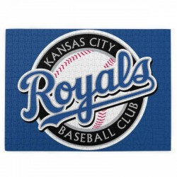520 Pieces MLB Kansas City Royals Picture puzzle #162481 for Teens, Adults & Families