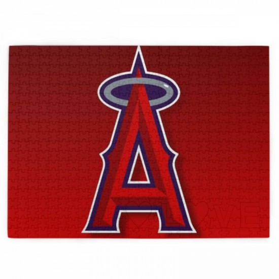 Best Jigsaw Puzzles Gift, Los Angeles Angels Picture puzzle #167617